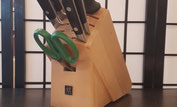 {Zwilling Henckels Twin 6 pc Knife Block Set}