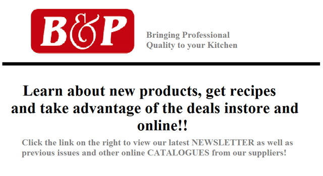 {Newsletters and Promos}
